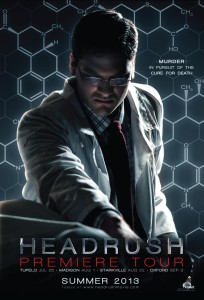 Headrush Postcard - front