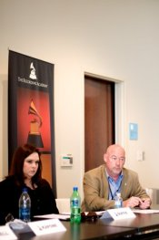 Sitting on a music licensing panel with The Recording Academy, Memphis Chapter several years ago