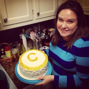 The Hubs had a copyright cake made for my birthday a few weeks ago!