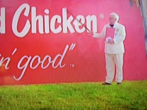 "Use of the TM shows KFC's desire to hopefully earn some rights of use in the tagline ""it's finger lickin' good"""